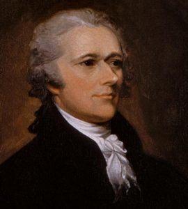 *** Александр Гамильтон (Alexander Hamilton; 1755—1804) — государственный деятель США, видный деятель Войны за независимость, идеолог и руководитель федералистов с момента её создания, автор программы ускоренного экономического развития, первый министр финансов США. ***